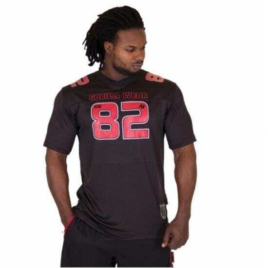 Gorilla Wear Fresno T-shirt (fekete/piros)
