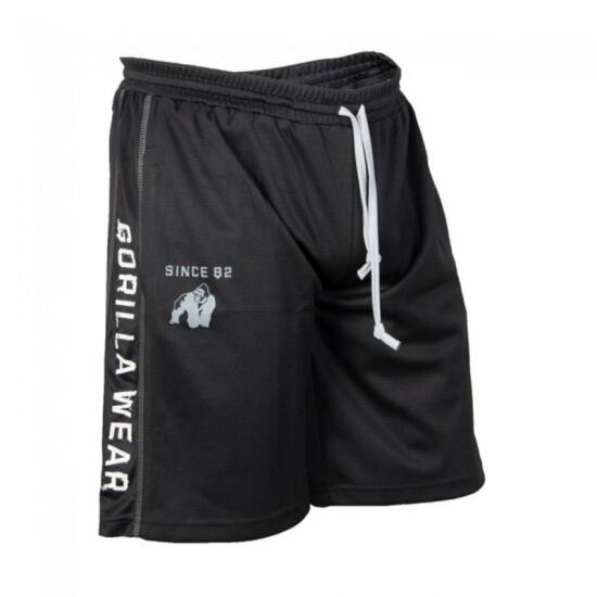 Gorilla Wear Functional Mesh Shorts (fekete/fehér)