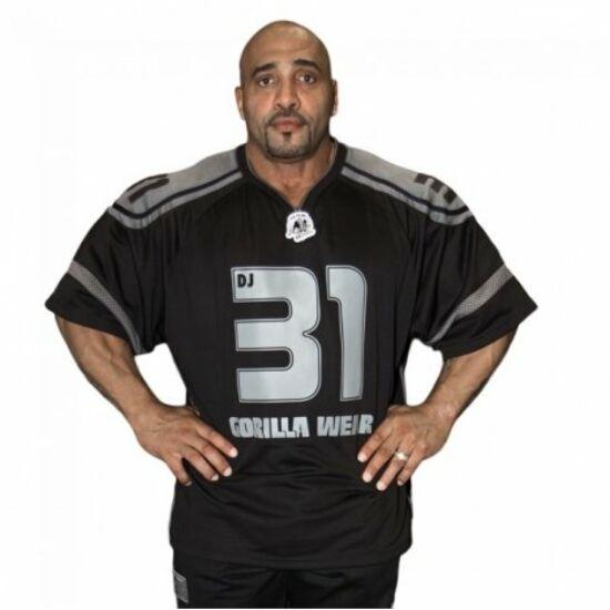 Gorilla Wear Gw Athlete T-Shirt Dennis James (fekete/szürke)