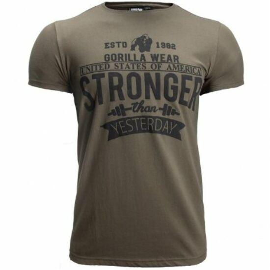 Gorilla Wear Hobbs T-shirt (army zöld)
