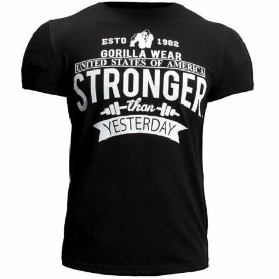 Gorilla Wear Hobbs T-shirt (fekete)