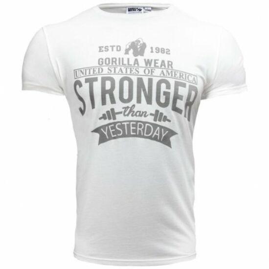 Gorilla Wear Hobbs T-shirt (fehér)