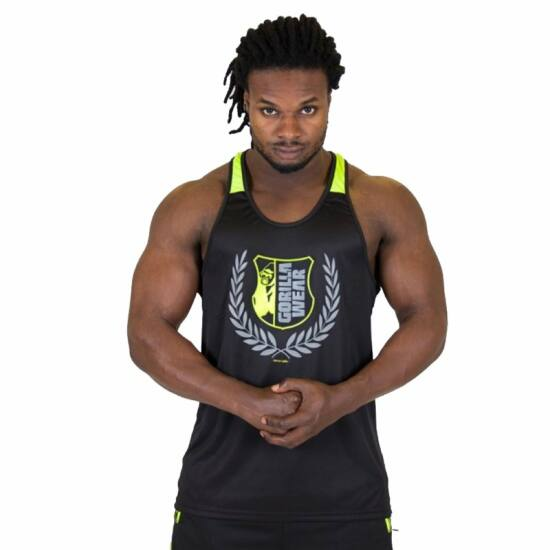 Gorilla Wear Lexington Tank Top (fekete/lime)