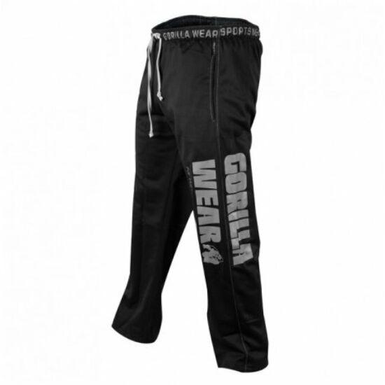 Gorilla Wear Logo Mesh Pants (fekete)