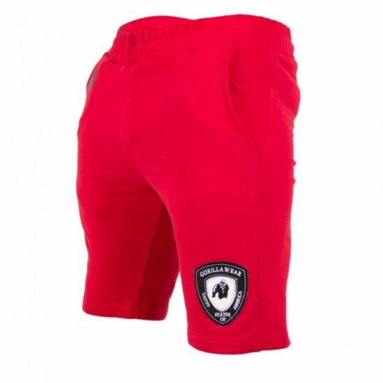 Gorilla Wear Los Angeles rövidnadrág (piros)