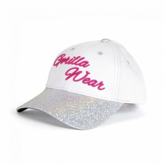 Gorilla Wear Louisiana Glitter Cap (fehér)