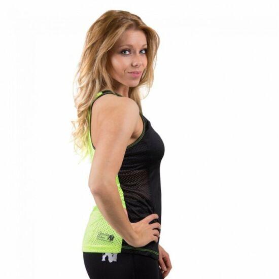 Gorilla Wear Marianna atléta trikó (fekete/lime)