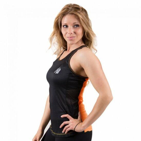 Gorilla Wear Marianna atléta trikó (fekete/narancs)