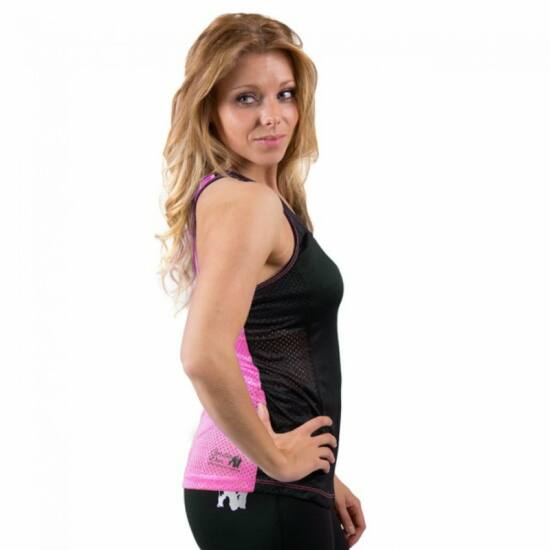 Gorilla Wear Marianna atléta trikó (fekete/pink)