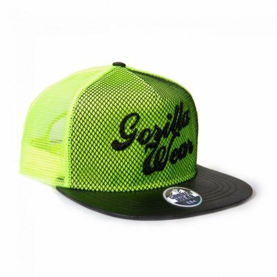 Gorilla Wear Mesh Cap (neon lime)