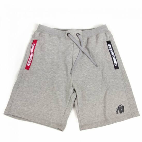 Gorilla Wear Pittsburgh Sweat Shorts (szürke)