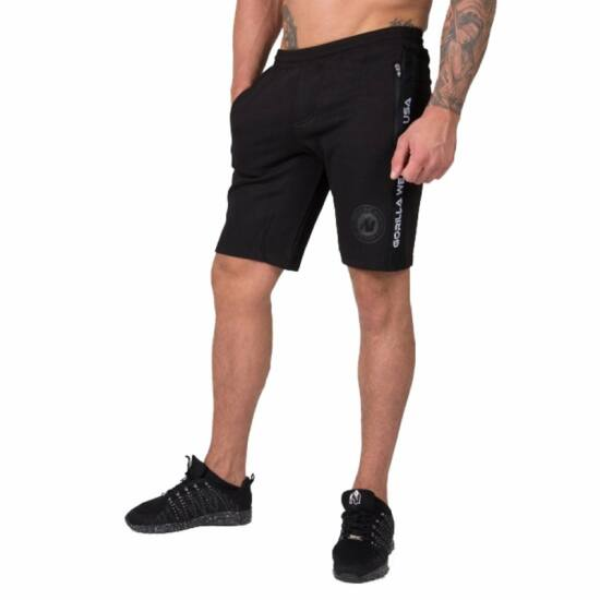Gorilla Wear Saint Thomas Sweatshort (fekete)