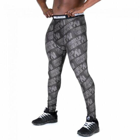 Gorilla Wear San Jose Men's Tights (Fekete/szürke)