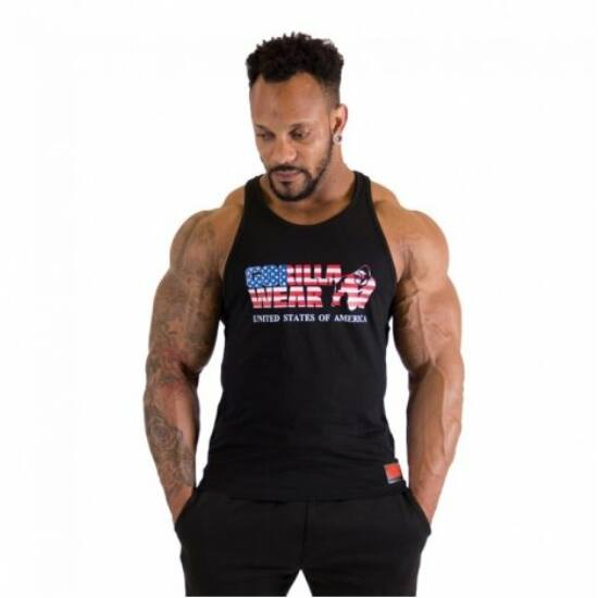 Gorilla Wear USA Tank Top (fekete)