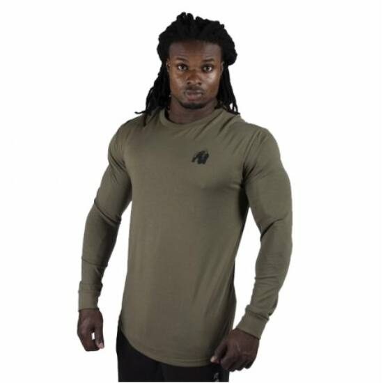 Gorilla Wear Williams Longsleeve (army zöld)