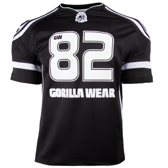 Gorilla Wear Gw Athlete T-Shirt (fekete/fehér)