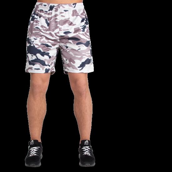 Gorilla Wear Kansas Shorts (bézs/terepmintás)