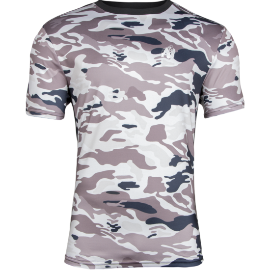 Gorilla Wear Kansas T-shirt (bézs/terepmintás)