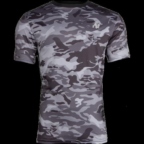Gorilla Wear Kansas T-shirt (fekete/szürke/terepmintás)