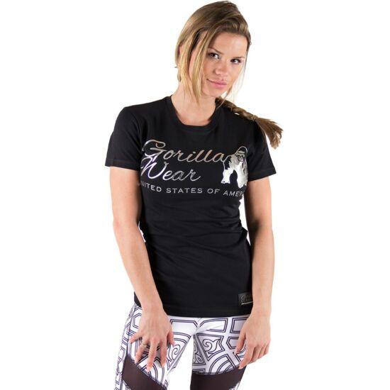 Gorilla Wear Luka T-shirt (fekete/ezüst)