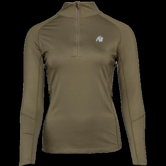 Gorilla Wear Melissa Longsleeve (army zöld)