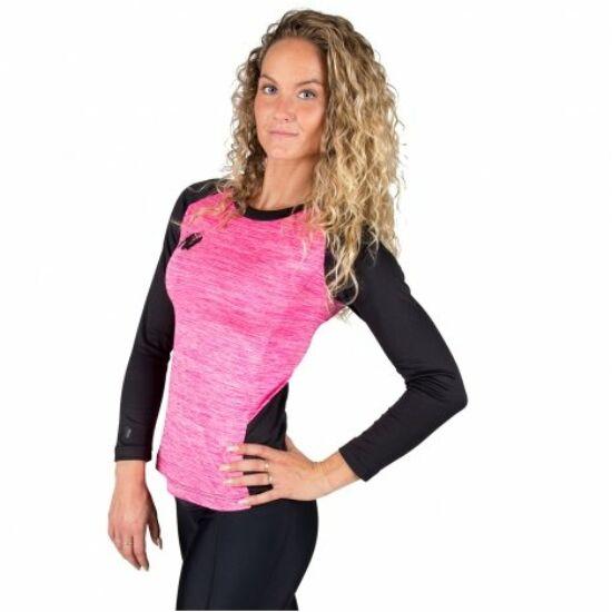 Gorilla Wear Mineola Longsleeve (fekete/pink)