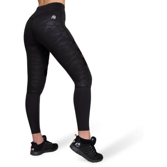 Gorilla Wear Savannah Biker Tights (fekete)