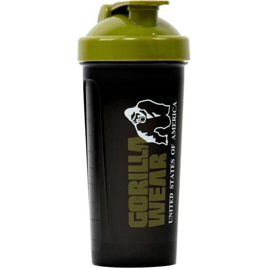 Gorilla Wear Shaker XXL (fekete/army zöld 1000ml)