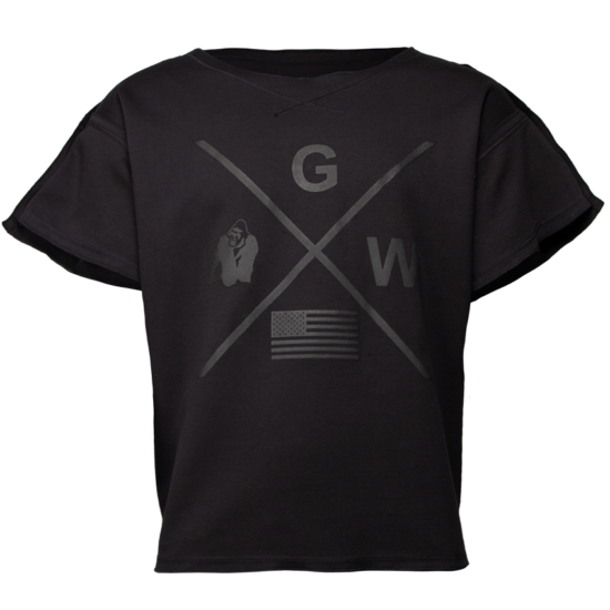 Gorilla Wear Sheldon Workout Top (fekete)