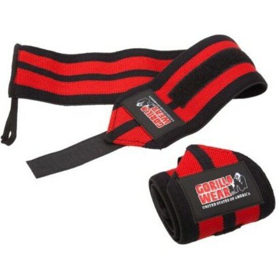 Gorilla Wear Wrist Wraps Pro (fekete/piros)