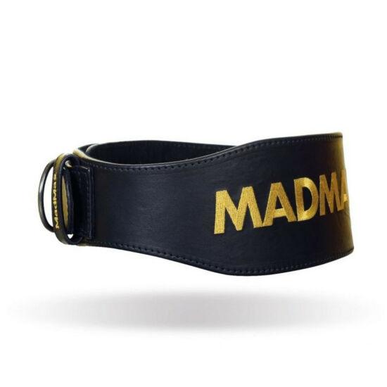 MADMAX Full Leather Belt Restless And Wild öv - fekete