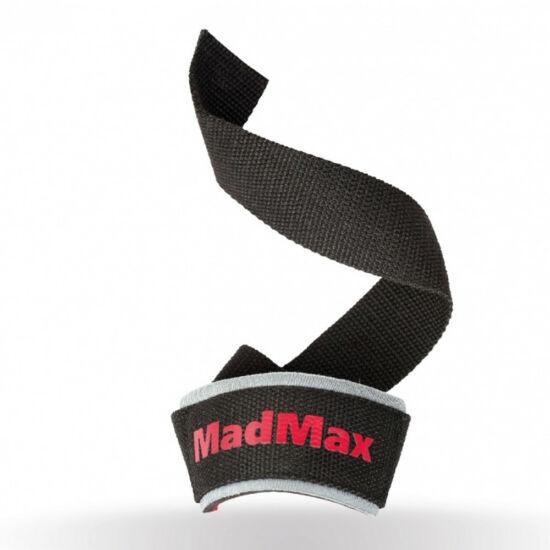 MADMAX PWR Wrist Wraps Felhúzó Heveder - fekete