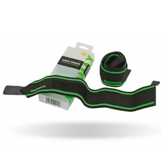 """MADMAX Wrist Straps 18"""" Csuklószorító - 46cm (Fekete/Zöld)"""