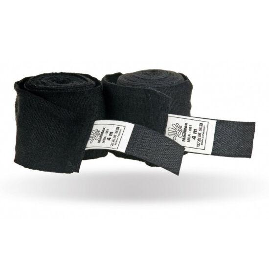 MADMAX Bandages For Box Black Bandázs - 400 Cm