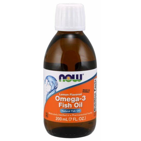 NOW Foods Omega-3 Fish Oil Liquid (200ml)