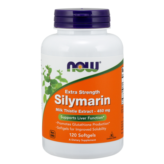 NOW Foods Silymarin 450mg (120 lágykapszula)