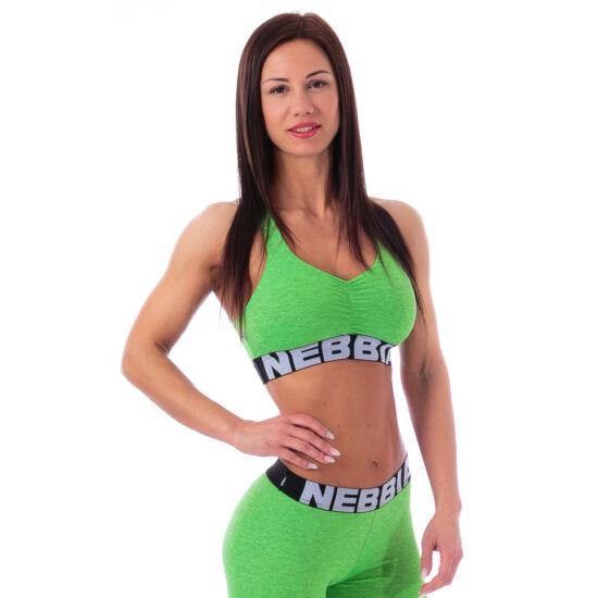NEBBIA (Melange) női mini top 223 (Zöld)