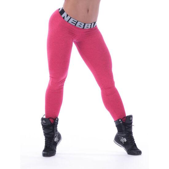 NEBBIA Scrunch Butt (Melange) női leggings 222 (Rózsaszín)