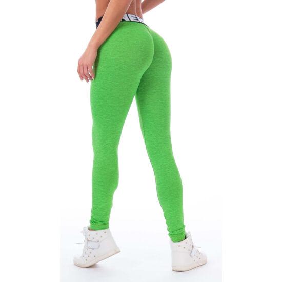 NEBBIA Scrunch Butt (Melange) női leggings 222 (Zöld)