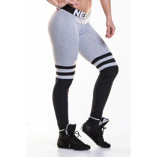 NEBBIA Over the knee leggings 286 (Szürke)
