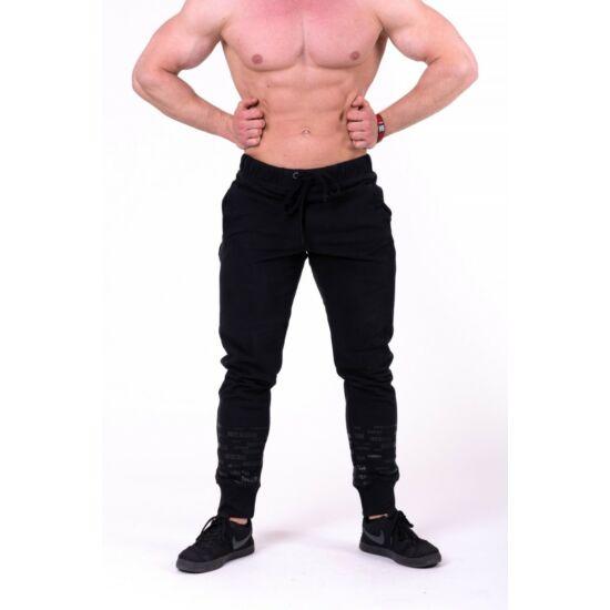 NEBBIA Gym Hero melegítő nadrág 153 (Fekete)