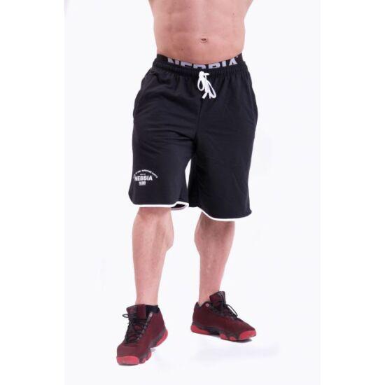 NEBBIA Hardcore Shorts 345 (Fekete)