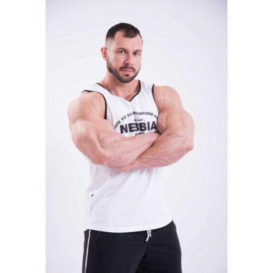 NEBBIA HardCore Atléta trikó 395 (Fehér)