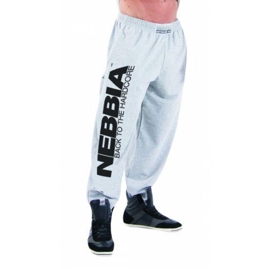 NEBBIA Hardcore Fitness Sweatpants 510 (Szürke)
