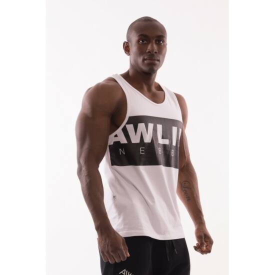 NEBBIA AW 90'S Muscle ujjatlan trikó 723 (Fehér)