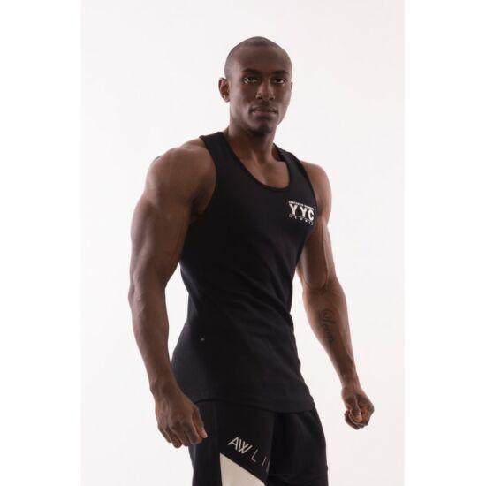 NEBBIA AW Gym ujjatlan trikó 726 (Fekete)