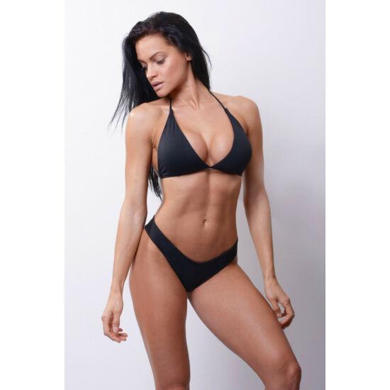NEBBIA Triangle bikini top 631 (Fekete)