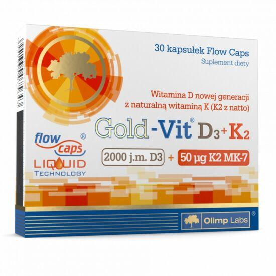 Olimp Gold-Vit D3+K2 (30 kapszula)