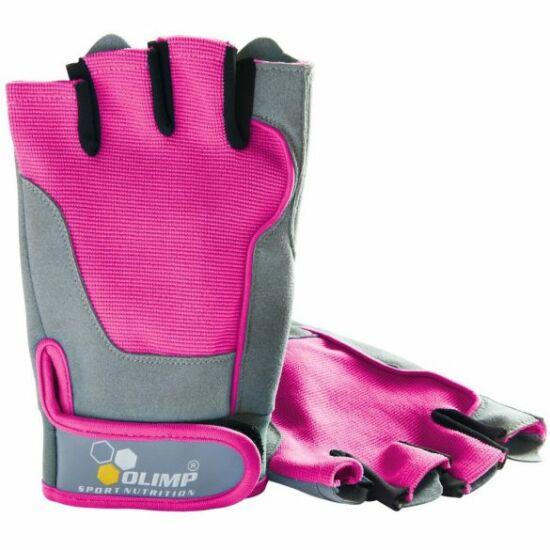 Olimp Fitness One Női edzőkesztyű (pink)