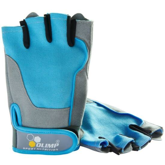 Olimp Fitness One Női edzőkesztyű (kék)